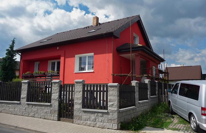 Zateplení rodinného domu a oprava terasy